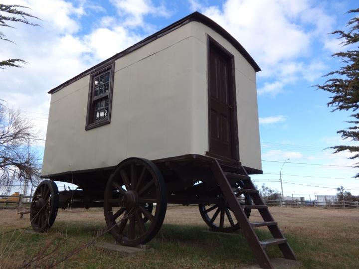 Caravana en exhibición, Museo del Recuerdo. Punta Arenas