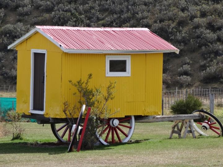Caravana en Porvenir. Tierra del Fuego
