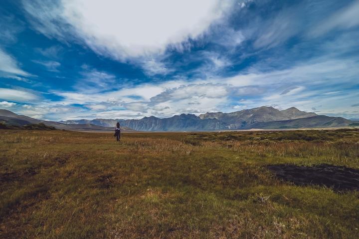 En el Valle del Volcán Antuco